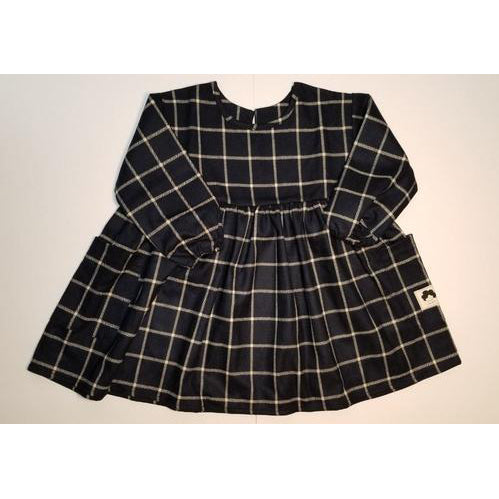 My Curly | Windowpane Design Dress for your Baby
