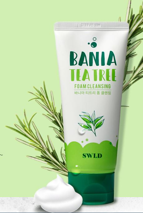 SWLD Bania Tea Tree Foam Cleansing 100ml