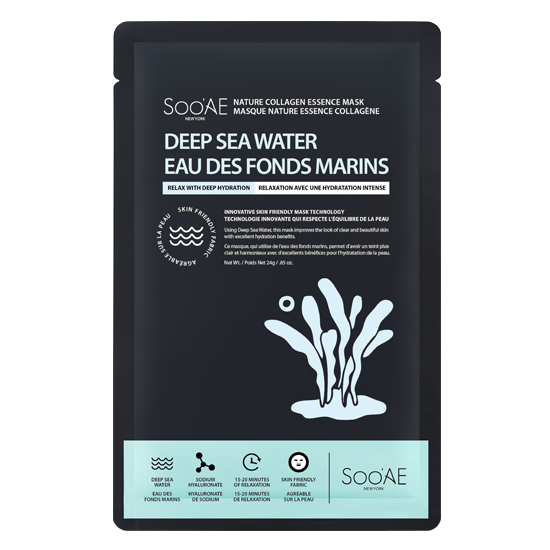 SOO'AE Nature Collagen Essence Mask - Deep Sea Water