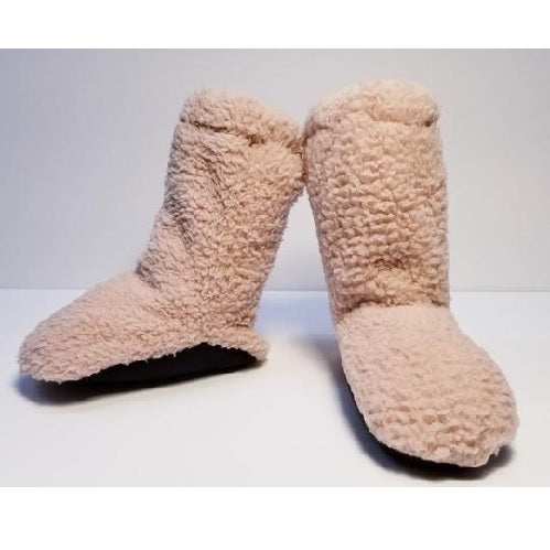 My Curly l Cozy Fleece Baby Booties