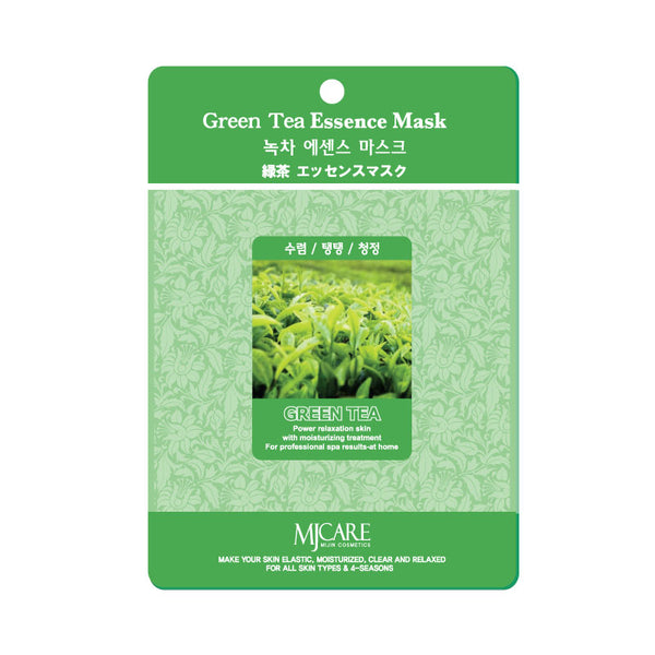 MIJIN MJ CARE Green Tea Essence Mask