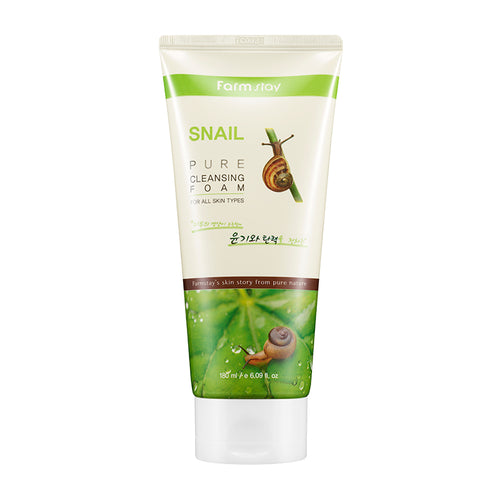 FARM STAY Snail Pure Cleansing Foam