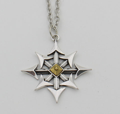 Chaos Star Necklace Nautical Pirate Punk Gothic Goth JewelryNecklace - Awoken Women