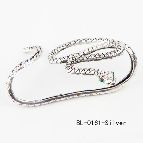 Snake Bracelet Crystal Hand Palm Bangle Cuff Fine Goth JewelryBracelet - Awoken Women