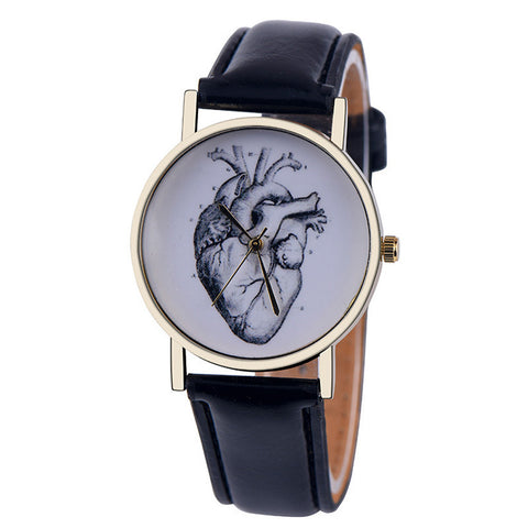Watch Women Casual quartz Wrist watches Faux leatherWatch - Awoken Women