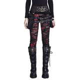 Punk Gothic Motocross Crocheted Women High Quality Street Sexy LeggingsLeggings - Awoken Women