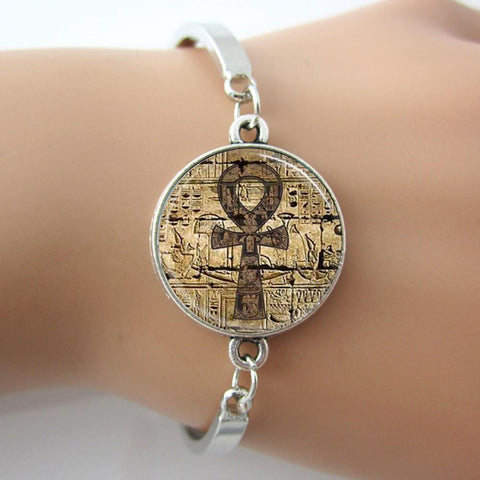 19 DESIGN OPTIONS-Egyptian Symbol bracelet vintage JewelryBracelet - Awoken Women