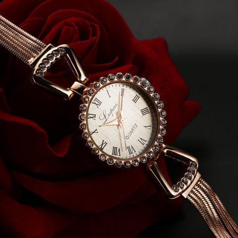 Watches Women Quartz Wristwatch Clock Ladies Dress WatchWatch - Awoken Women