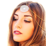 Womens Head Chain Jewelry Headband Hair BandHead Chain - Awoken Women