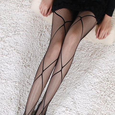 Women Fishnet Stockings Tights Sexy Black PantyhoseFishnet Stockings - Awoken Women