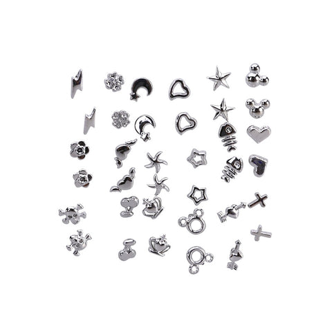 VALUE PACK 18 Pair of Mixed Styles Silver Earrings Ear StudsEarrings - Awoken Women