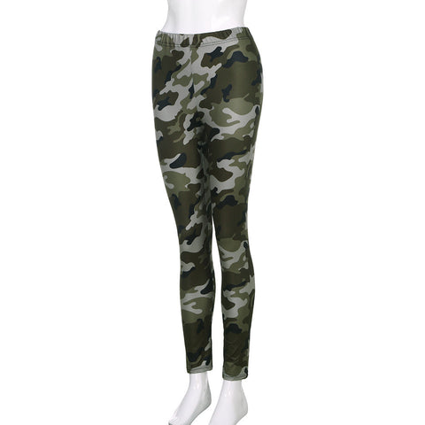 Camouflage Leggings Fitness Casual Quality PantsLeggings - Awoken Women