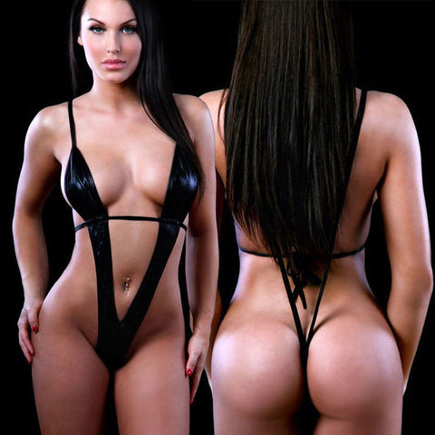 Exotic Micro One Piece Bikini Slingshot Thong