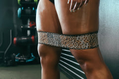 Cheetah Print Booty Band- Light