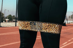 Cheetah Print Booty Band- Light/Medium
