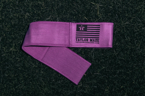 Purple Ankle Bands - Medium