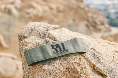 Olive Green Booty Band - Medium