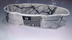Marble Print Booty bands - Light