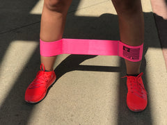 Pink Ankle Band - Medium