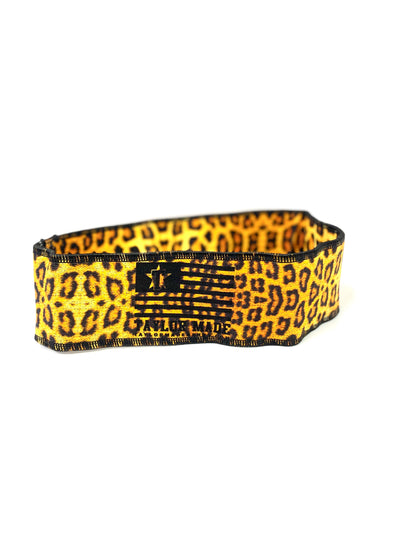 Cheetah Print Booty Band- Heavy