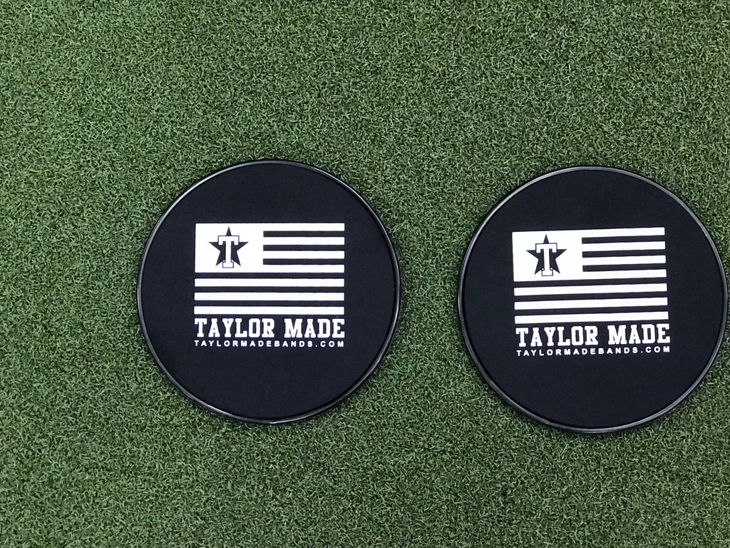 Black TaylorMade Sliders