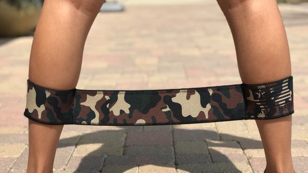 Camo Medium Resistance Band- TM