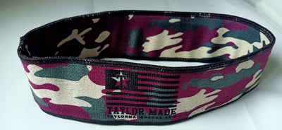 Camo( Green/Burgundy)  Booty bands - Heavy