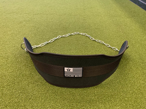 Weighted Dip Belt with Chain