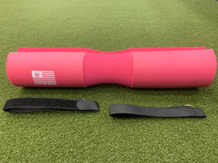 Pink Hip Thrust / Squat Pad Barbell Pad