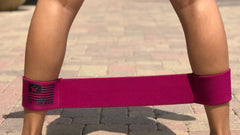 Magenta Ankle Band - Medium