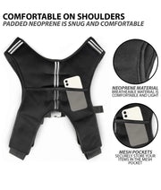 Black Weight Vest  ( Taylor Made)