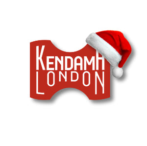 Kendama London Christmas logo