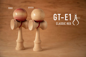 "GT-E1 MAPLE ""ROKU"" - CLASSIC RED"