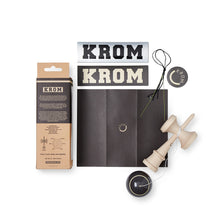 Load image into Gallery viewer, KROM - GAS CHARCOAL KENDAMA