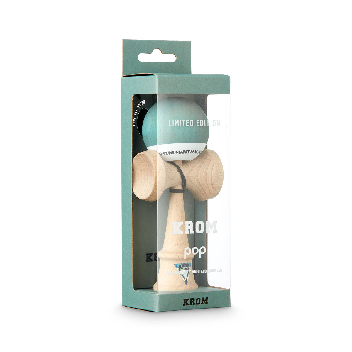 Limited Edition KROM POP Pistachio Kendama boxed