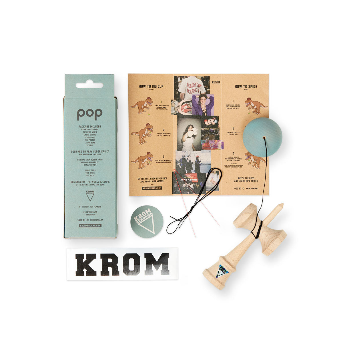 Limited Edition KROM POP Pistachio guts