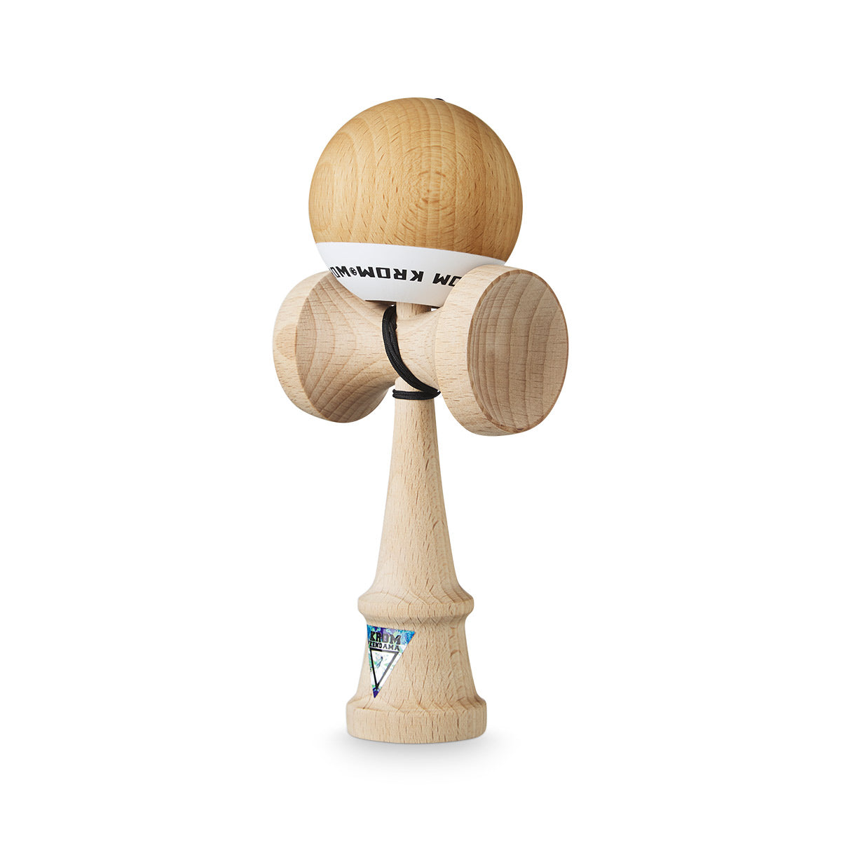 Limited edition Naked POP Kendama angle