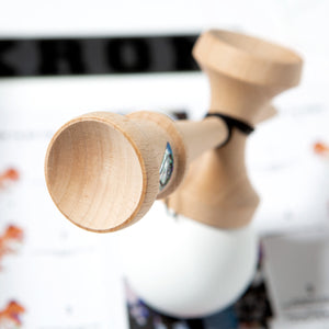 White KROM POP Kendama loon chill