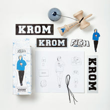 Load image into Gallery viewer, KROM – Fish DJ Pro mod kendama guts