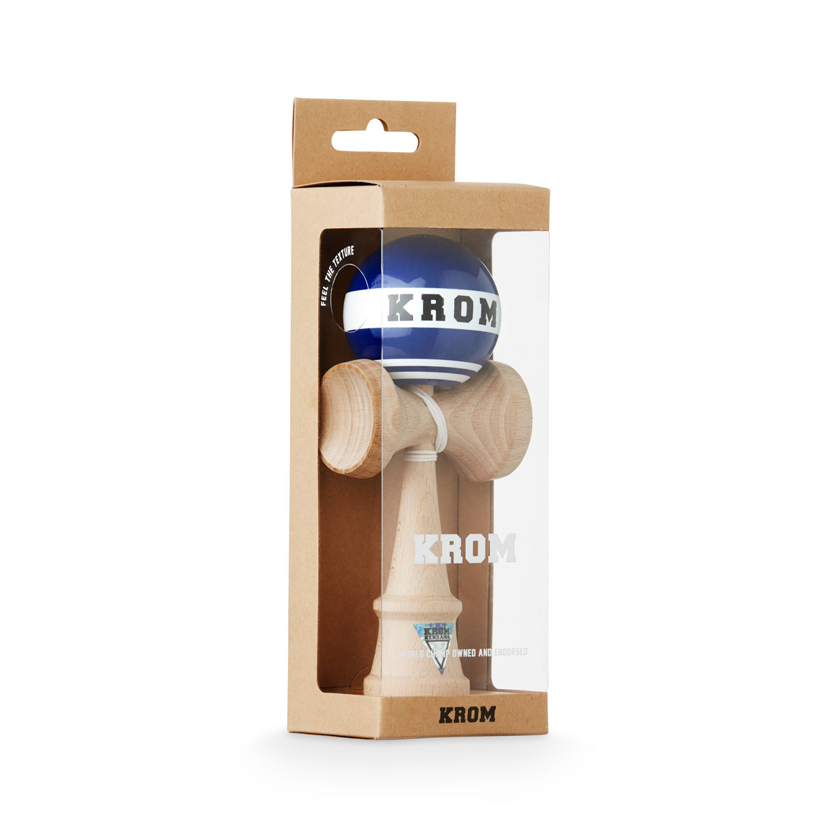 Krom Strogo W.I.P Blue-collar Kendama Boxed