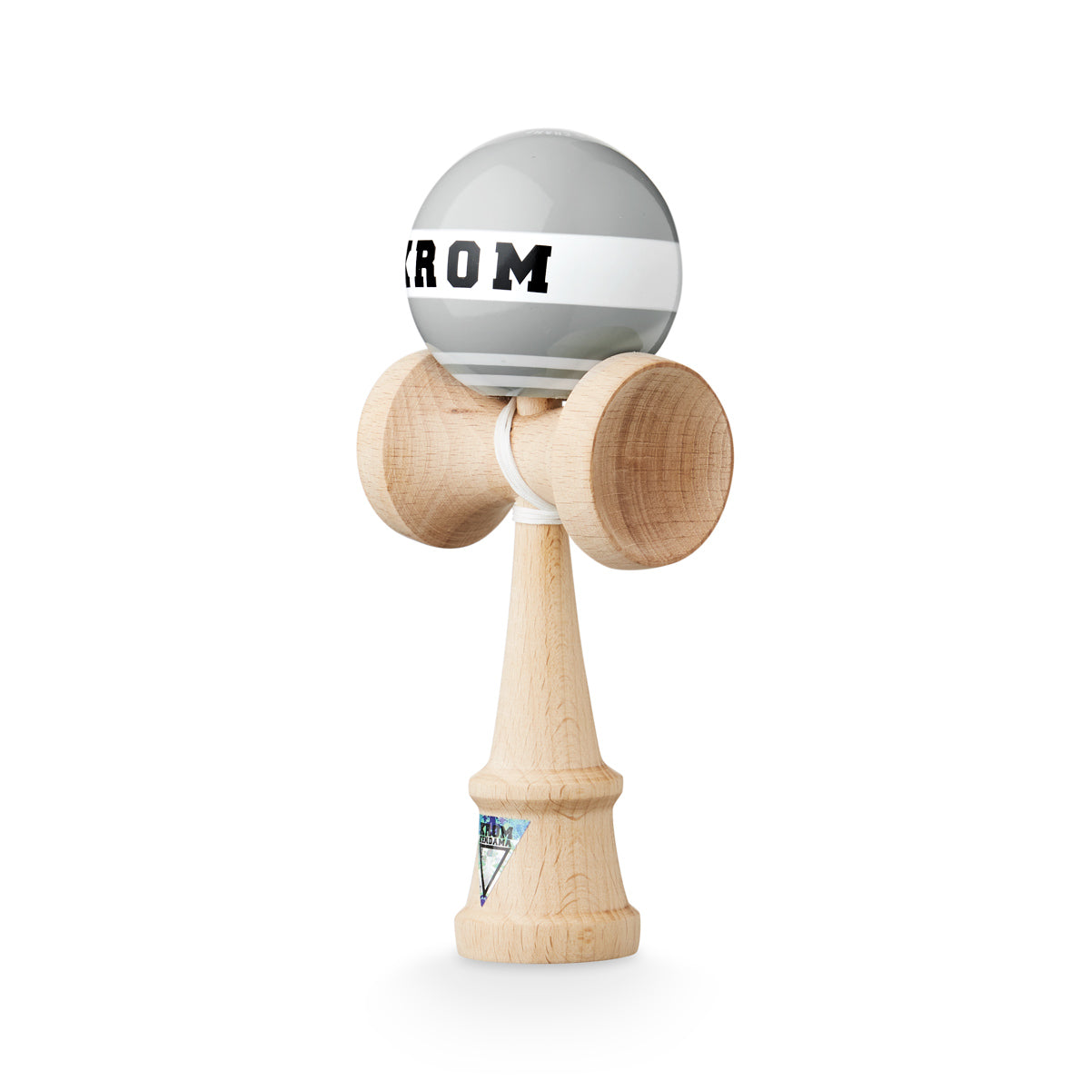 Krom Strogo W.I.P Grayhound Kendama angle