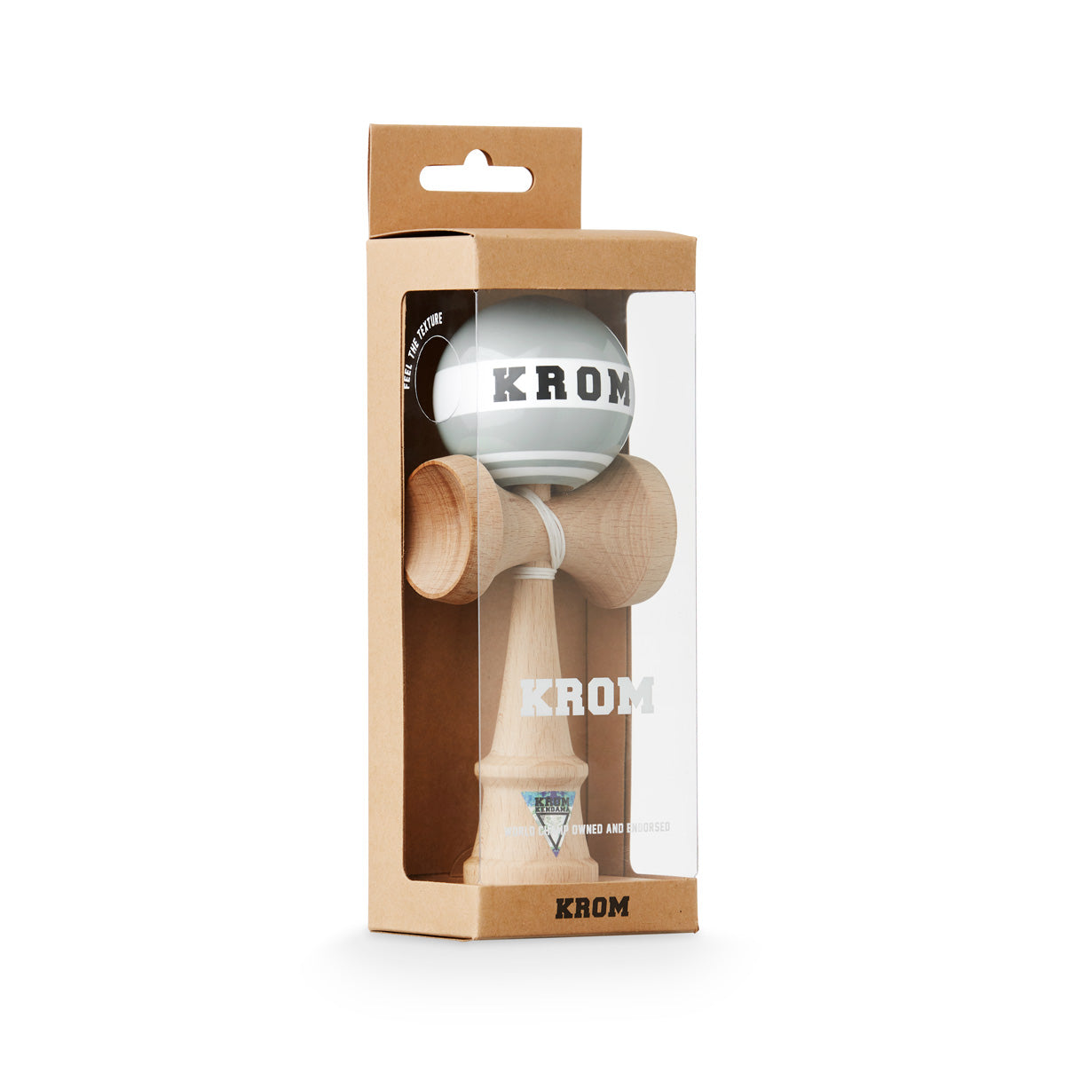 Krom Strogo W.I.P Grayhound Kendama boxed