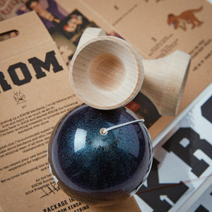 KROM Bioluminescence Kendama Warp hole