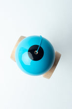 Load image into Gallery viewer, Sweets Blue Boost Radar Kendama top down