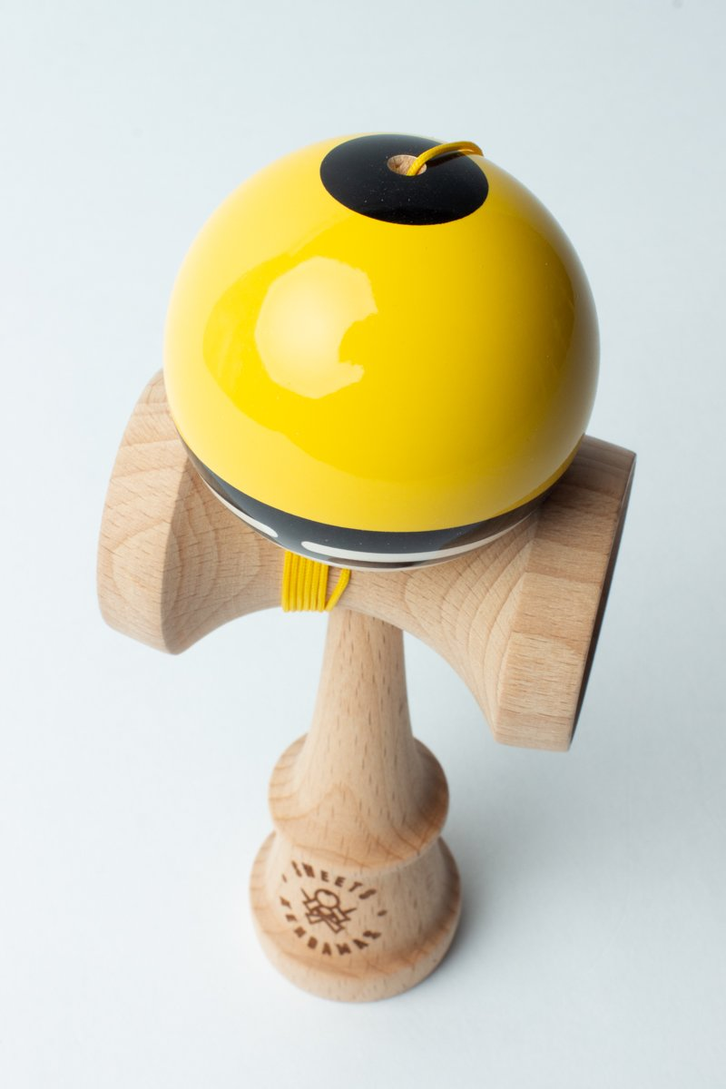Sweets Yellow Boost Radar Kendama dot