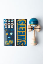 Load image into Gallery viewer, Sweets - C. Fraser Legend Sapphire Kendama guts