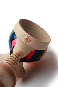 George Marshall Pro Boost Kendama burn details