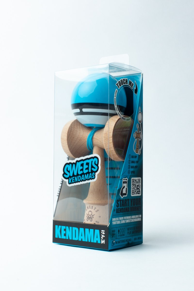 Sweets Blue Boost Radar Kendama boxed