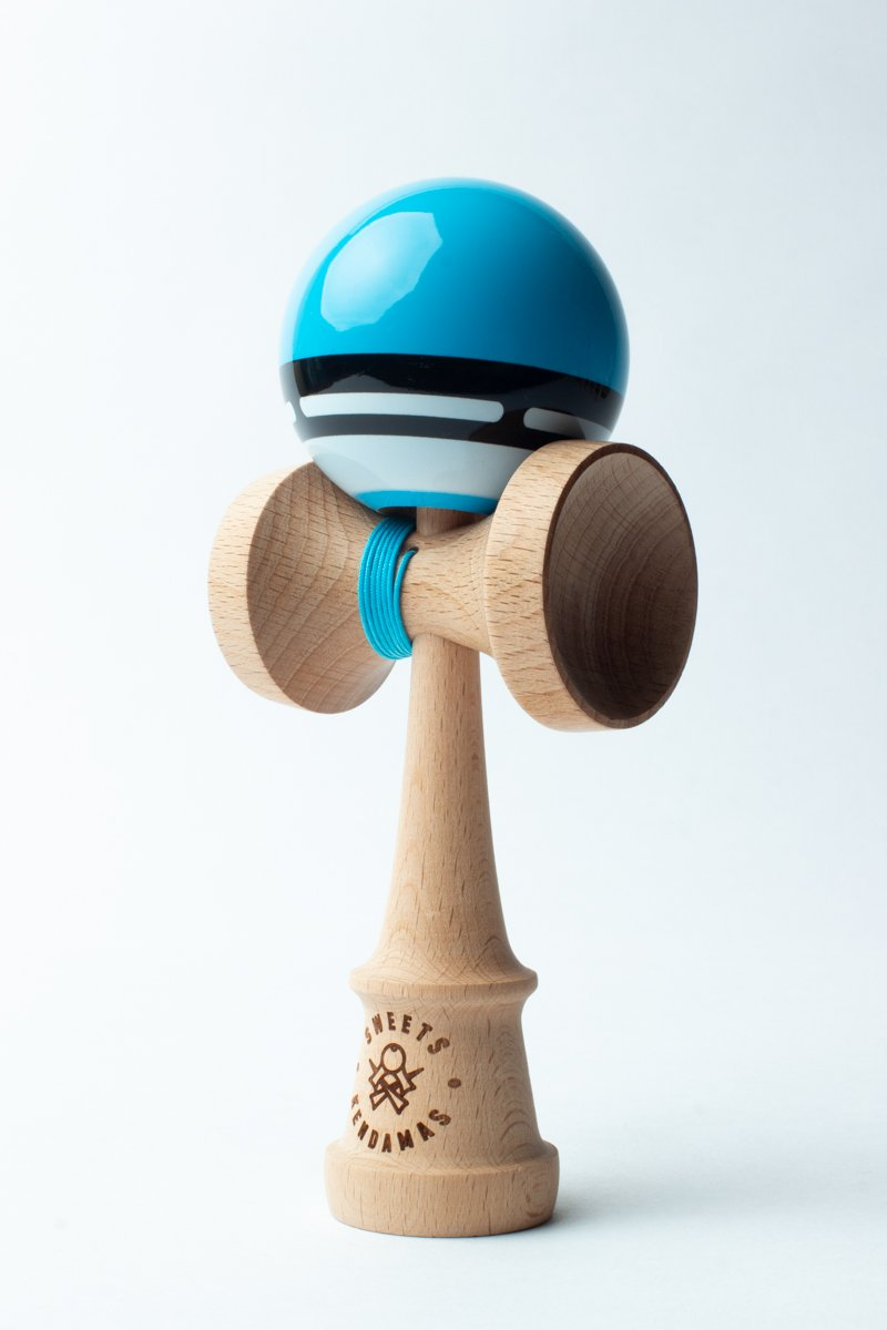 Sweets Blue Boost Radar Kendama angle