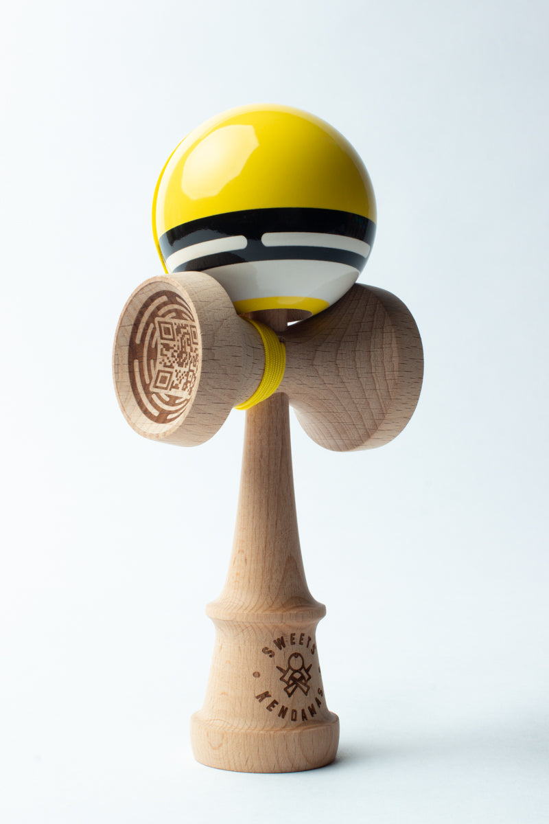 Sweets Yellow Boost Radar Kendama more angles